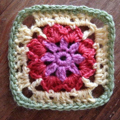 Granny square how to - 1 of 13