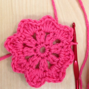 Granny square how to - 7 of 13