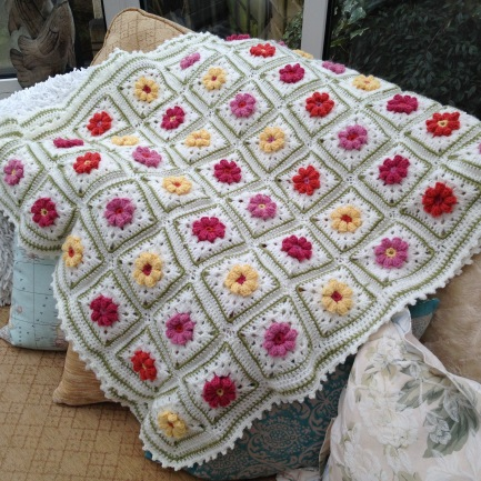 rose garden blankie - 1 of 3