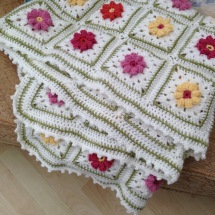 rose garden blankie - 3 of 3