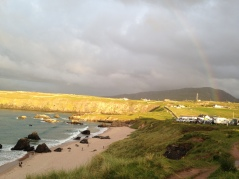 Durness catches the evening sun