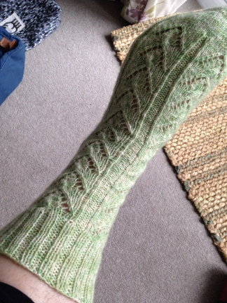 Lace sock - patterned TBC